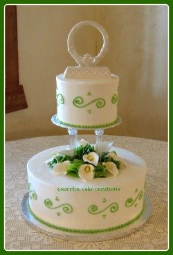 Irish Wedding Cake.  Image by Graceful Cake Creations,Flickr.com