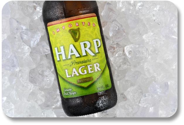 Irish Beer Brands - Harp Lager