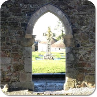 Irish Expressions - Arch at Clonmacnoise Monastery