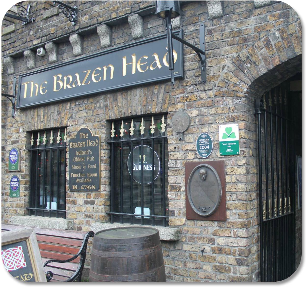 Irish Expressions - Brazen Head Pub.  Photocredit:  Marta Carnero via Flickr.