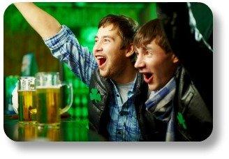 Irish sayings.  Enjoying a laugh at the pub.