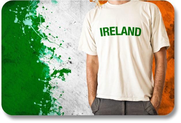 Traditional Irish Clothing - Irish Flag Shirt