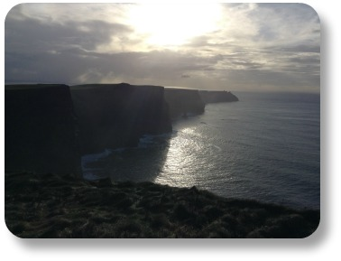 Irish poverbs - the majesty of the Cliffs of Moher...
