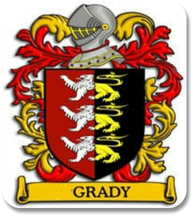 Irish Family Crests - Grady Coat of Arm, Link to www.4crests.com