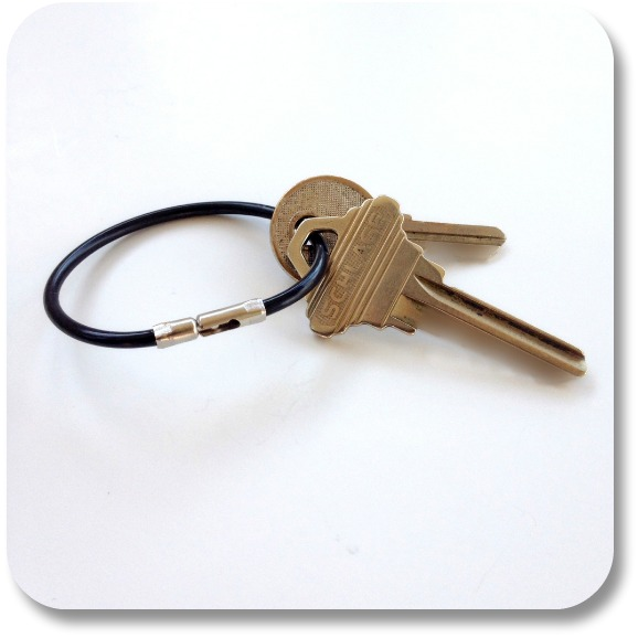 Irish Birthday Traditions - Keys to the House.  Photocredit:  Gadgeteer.com