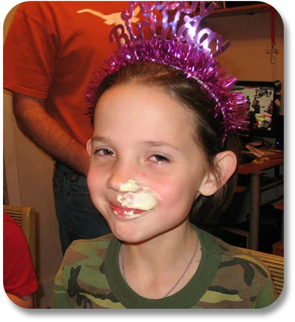 Irish Birthday Traditions - Birthday Nose Buttering.  Photocredit:  Alisgator.com