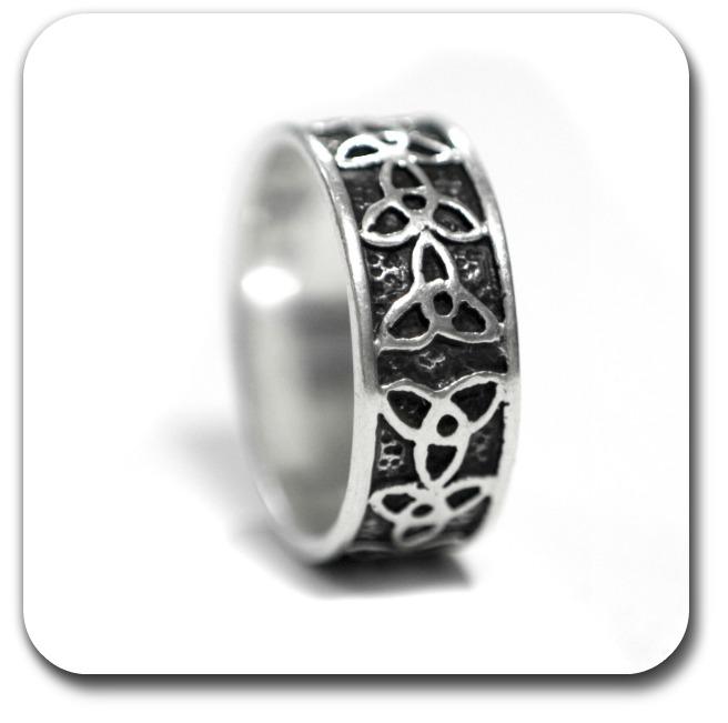 Celtic Trinity Symbol - Celtic Trinity Ring