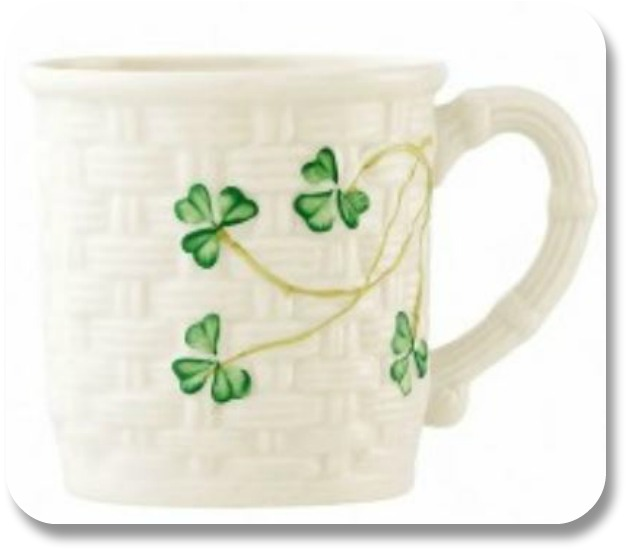 Irish Baby Gifts - Belleek Baby Mug, Image Property of Theirishstore.com