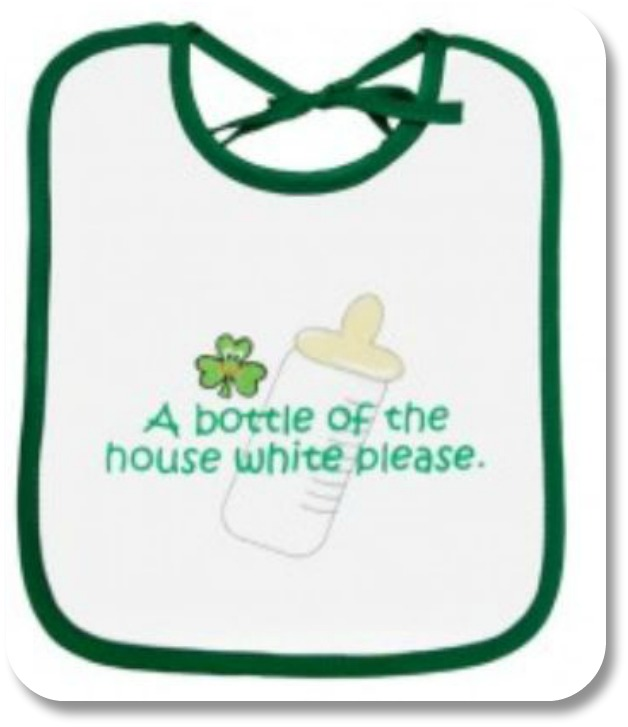 Irish Baby Gifts - Irish Bib, Image Property of theirishstore.com