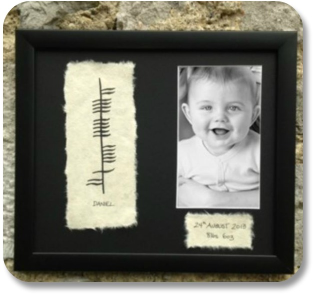 Irish Baby Gifts - Baby Blessing Wall Plaque, Image Property of theirishstore.com