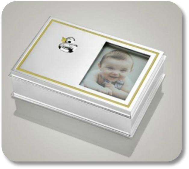 Irish Baby Gifts - Baby Keepsake Box, Image Property of Theirishstore.com