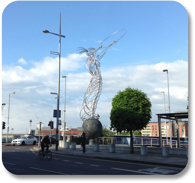 Picture of Ireland - Beacon of Hope Sculpture Belfast