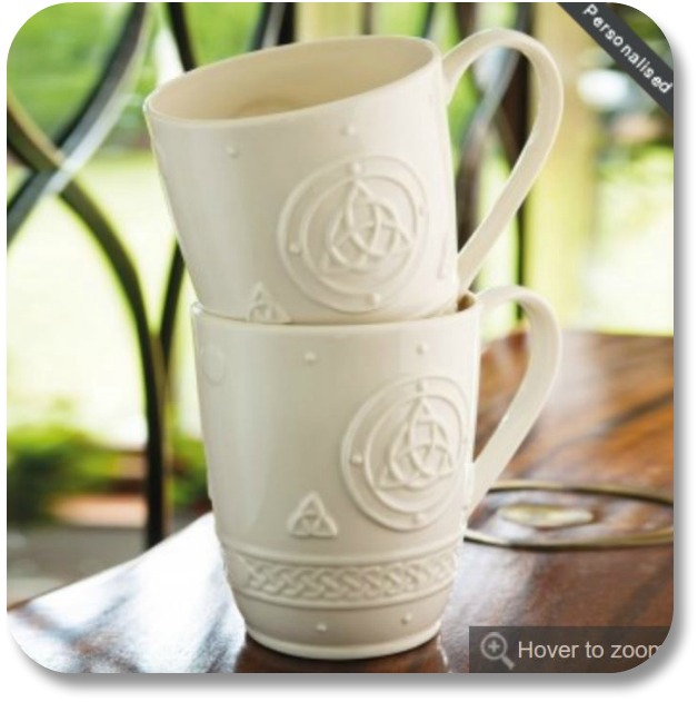 Creative Irish Gifts - Belleek Mugs from The Irish Store