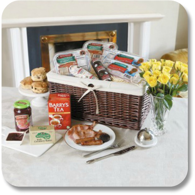 Creative Irish Gifts - Breakfast Basket from TheIrishStore.com