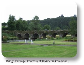 Ireland Travel Destinations - Inistoge Bridge