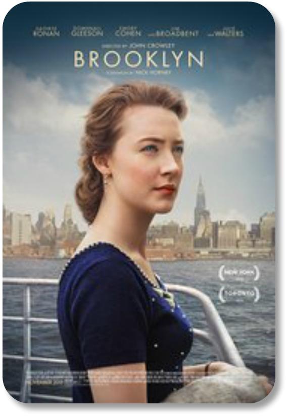 Irish Themed Movies - Brooklyn