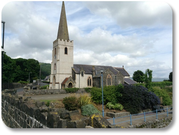 Picture of Ireland - Church with Steeple