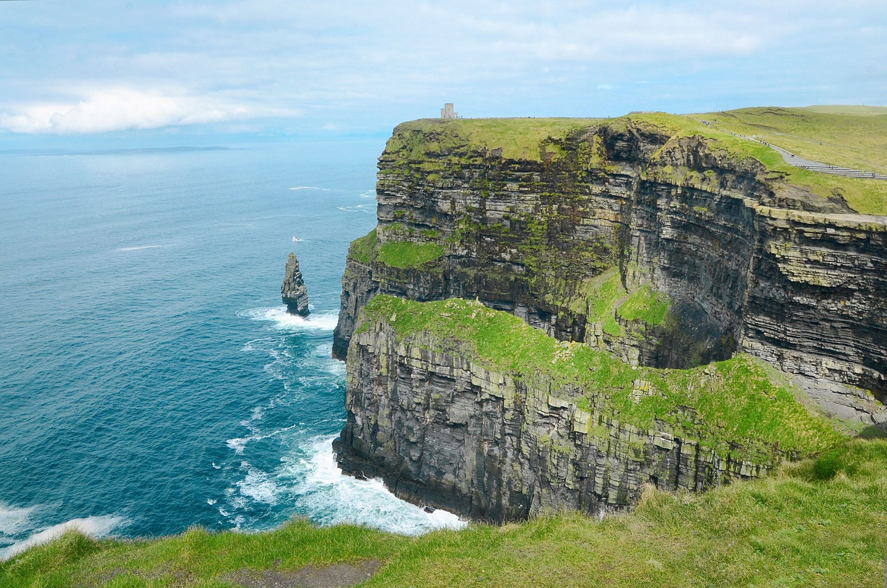 Irish Expressions - Cliffs of Moher.  Photocredit:  Theo Crazzolara via Flickr.