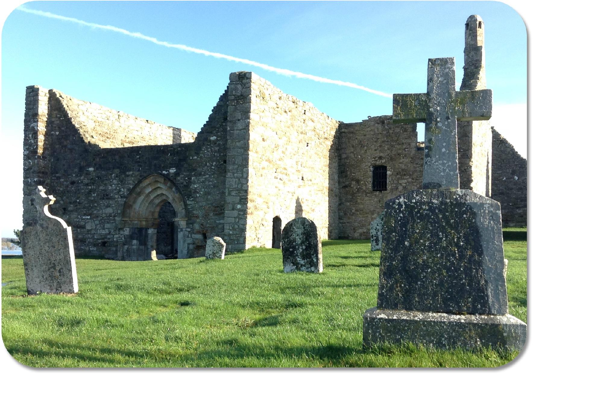 Irish Expressions - Clonmacnoise Monastic Site