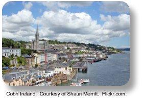 Cobh Ireland.  Courtesy of Shaun Merritt. Flickr.com