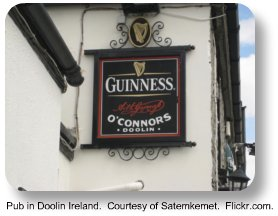 Pub in Doolin Ireland.  Courtesy of Satemkemet.  Flickr.com