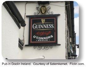 Pub in Doolin Ireland.  Courtesy of Satemkemet.  Flickr.com
