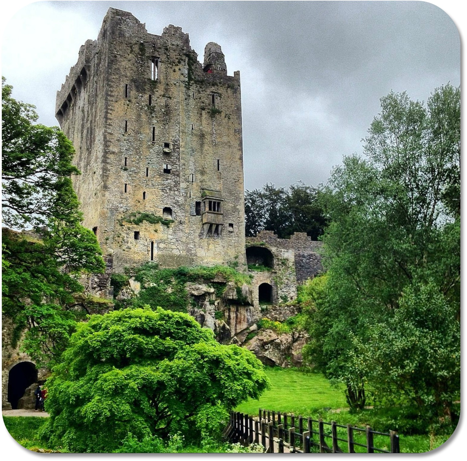 Irish Expressions - Blarney Castle.  Photocredit:  Amber Cavers via Flickr.