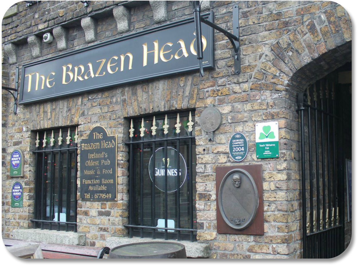 Irish Expressions - Brazen Head Pub.  Photocredit Marta Carnero via Flickr.