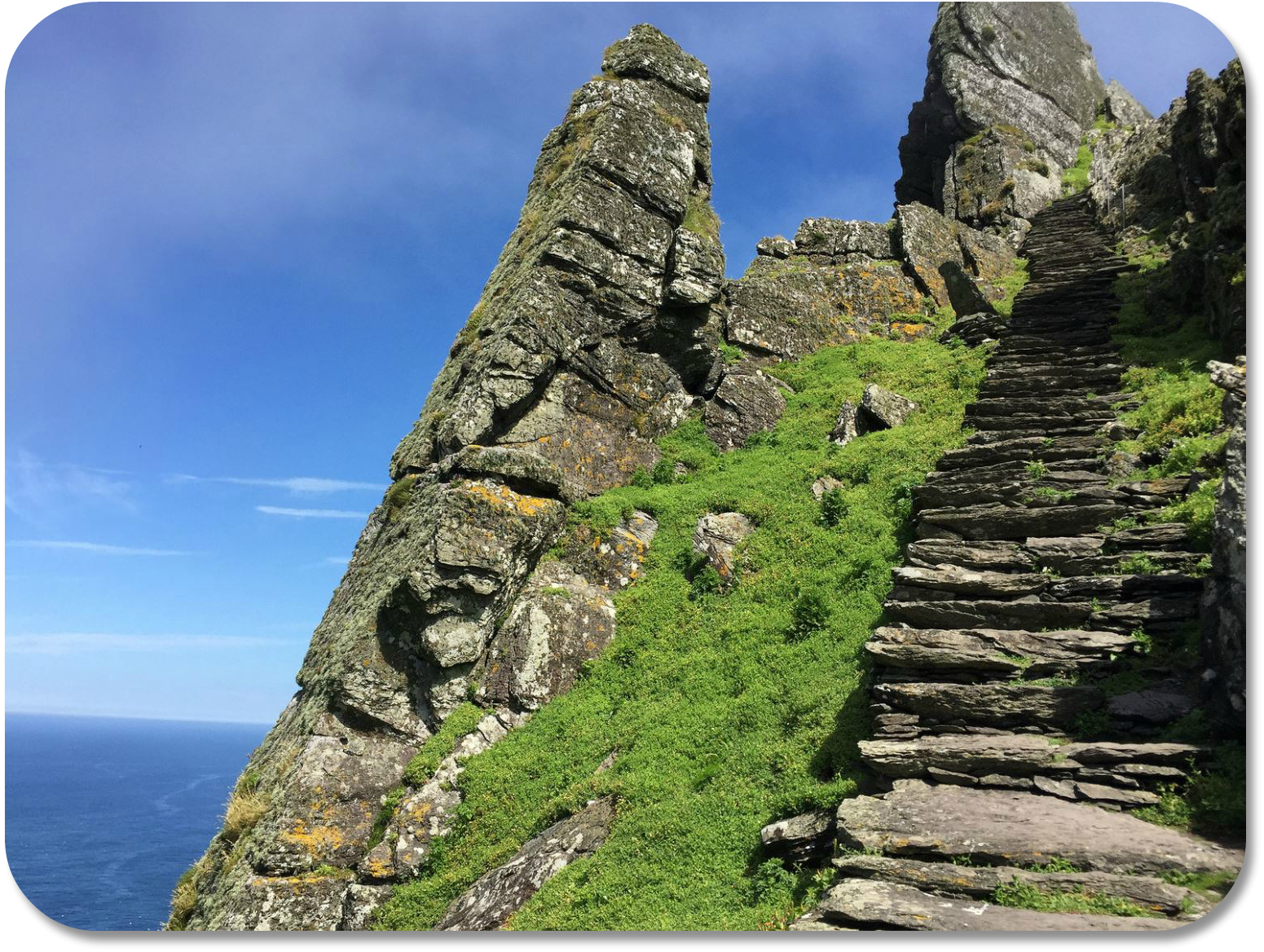 Irish Expressions - Skellig Michael photocredit Jacob Mells via Flickr