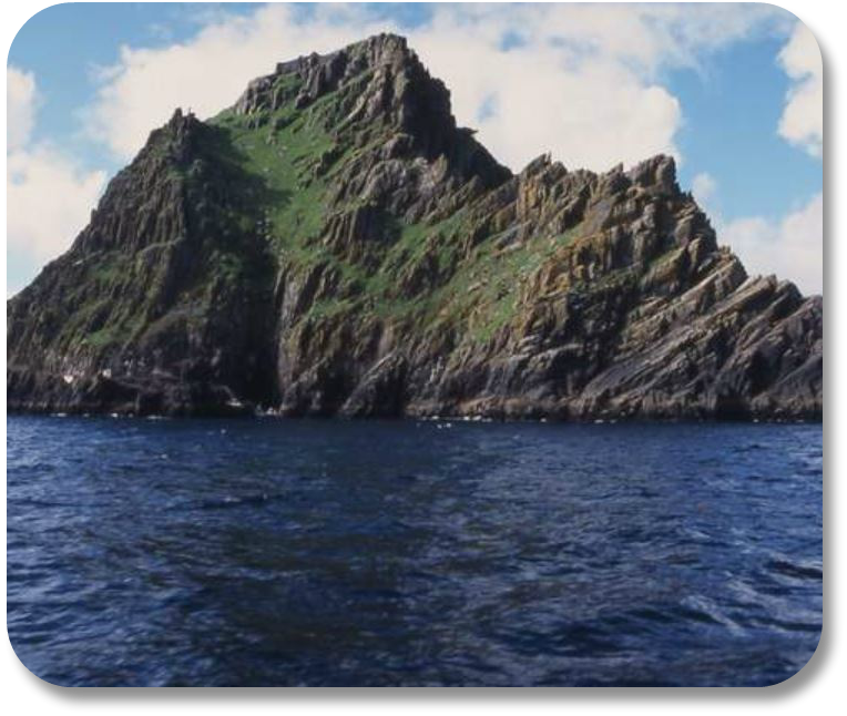 Irish Expressions - Skellig Michael photocredit Sean Feehan via Flickr.