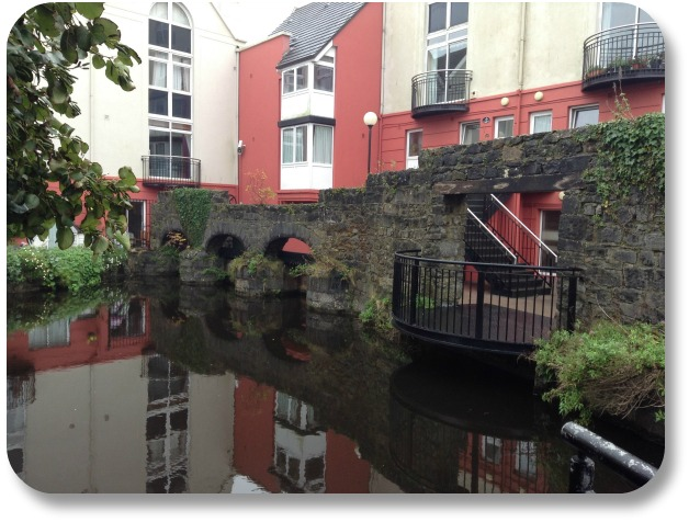 Irish Expressions:  Galway Activities - House on Riverfront
