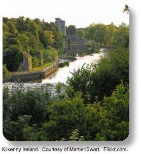 Kilkenny Ireland.  Courtesy of Martie1Swart.  Flickr.com