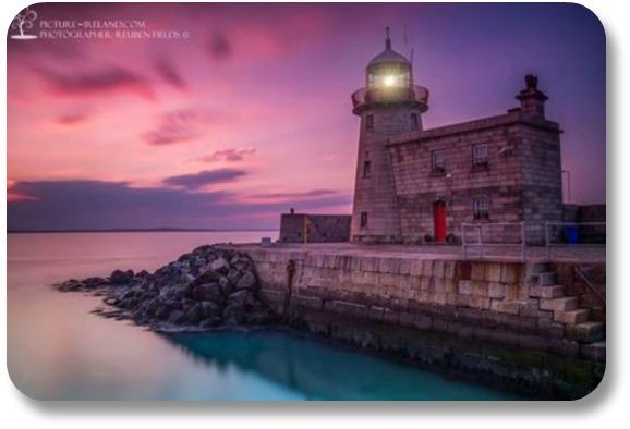 Ireland Travel Destinations - Lighthouse in County Meath.  Photocredit Rueben Fields @pictureireland
