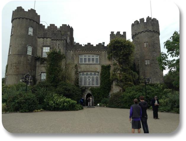 Malehide Castle - Front.