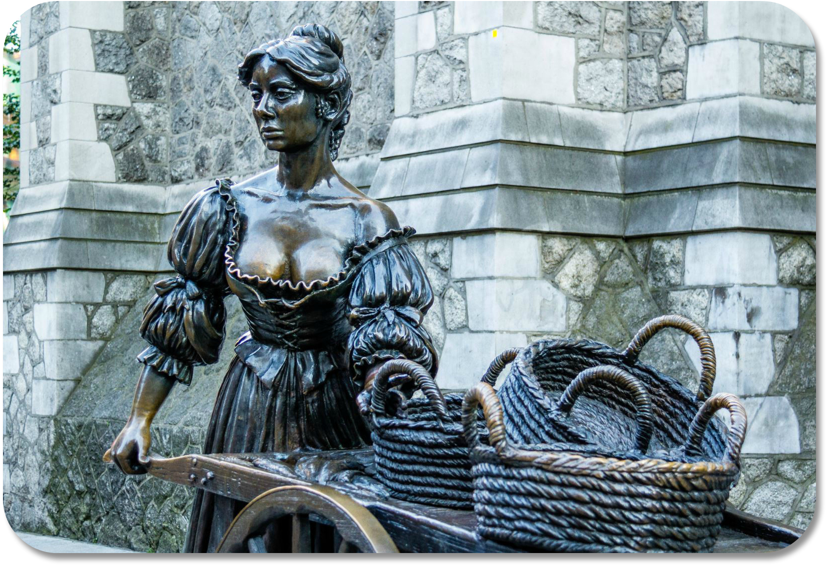 Irish Expressions - Molly Malone Statue photocredit Marcial Bernabeau via Flickr
