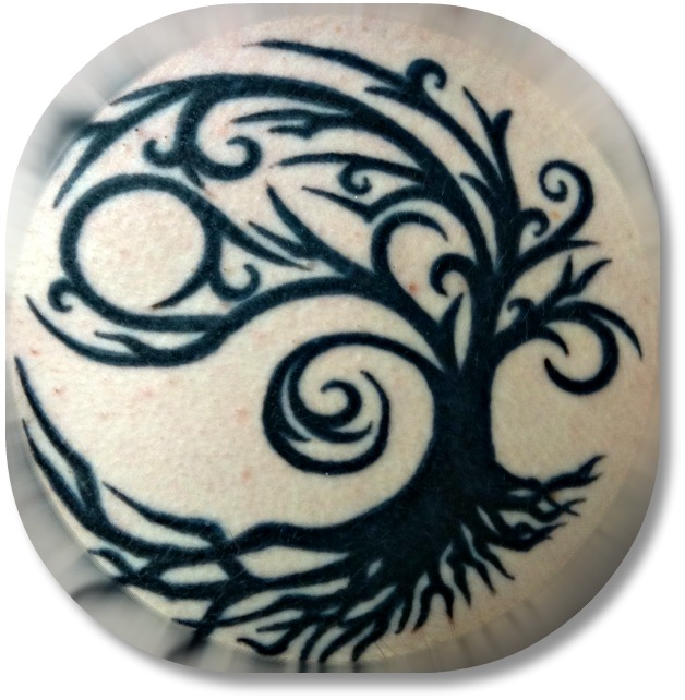 Irish Tattoo Design - Tree of Life