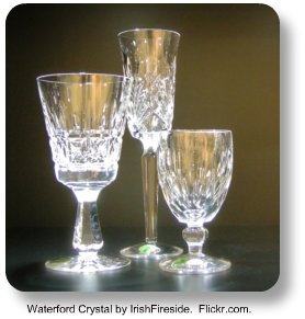 Waterford Crystal by IrishFireside.  Flickr.com.