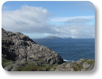 Ireland Travel Destinations.  View from Beara Peninsula.