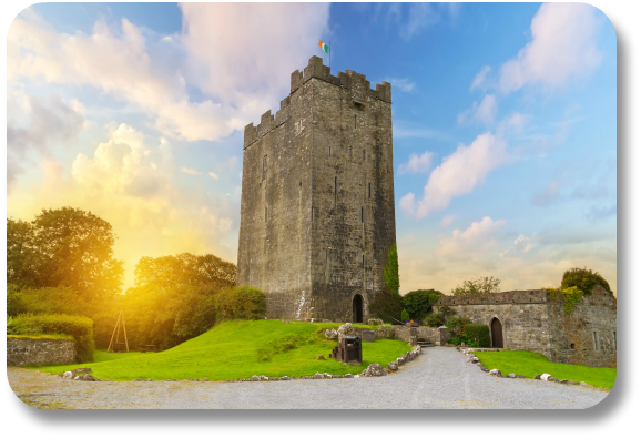Irish Expressions - Dysert O'Dea Castle.