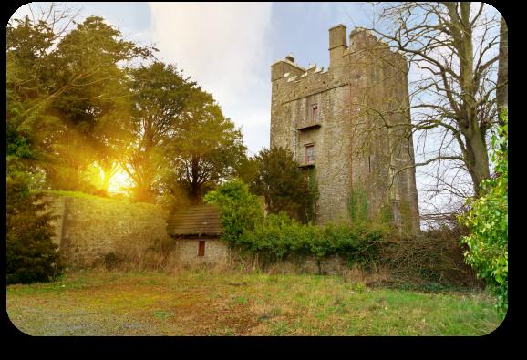Irish Expressions - Fouklsrath Castle.