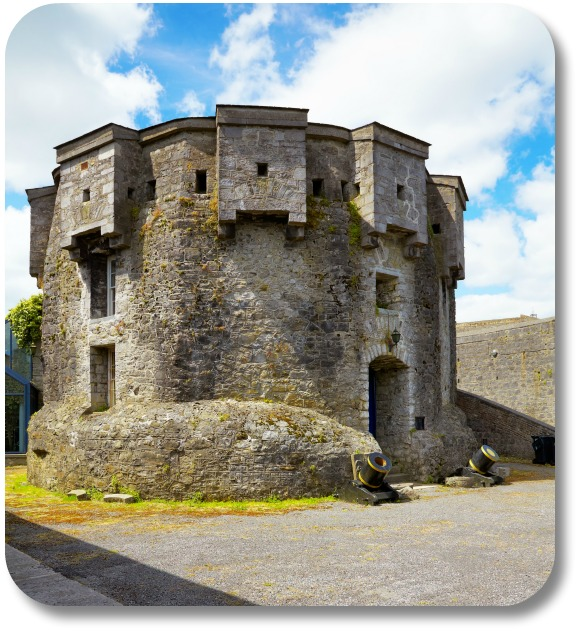 Irish Castles - Athlone Castle.