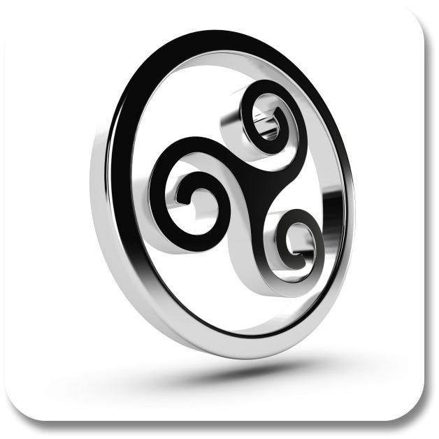 Celtic Symbols - Triskelion