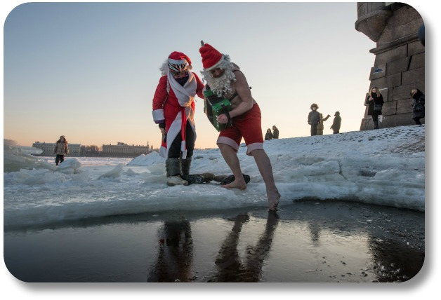 Irish Christmas Traditions - Christmas Swim