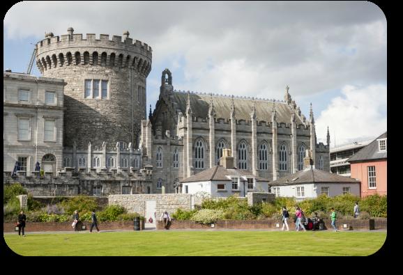 Irish Expressions - Dublin Castle.
