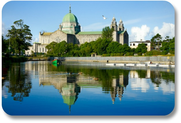 Irish Expressions:  Galway Activities - Morning View of Galway Cathedral