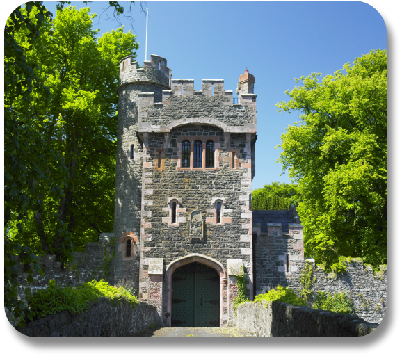 Irish Expressions - Glenarm Castle.