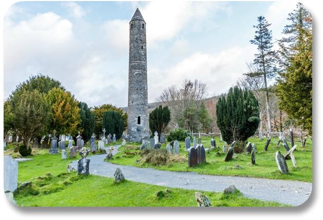 Ireland Travel Destinations - Glendalough Round Tower