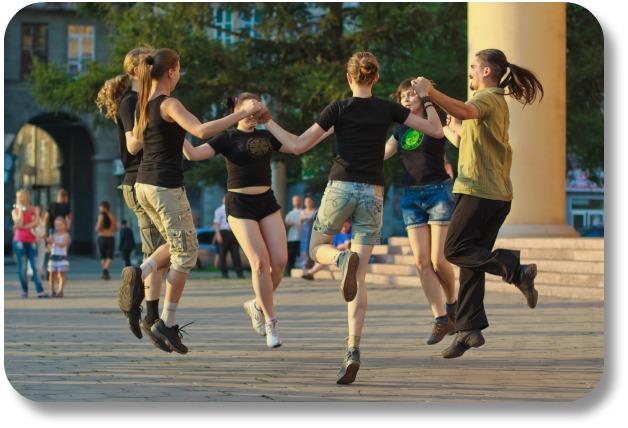 Irish Dancing - Social Dancing