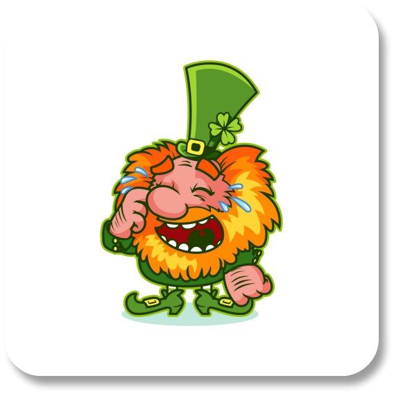 Funny Irish Jokes - Laughing Leprechan II