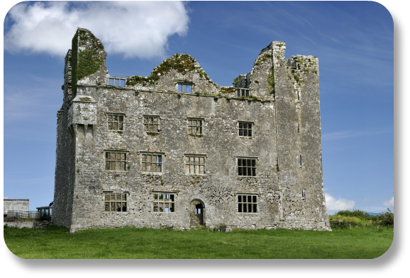 Irish Expressions - Leamaneh Castle